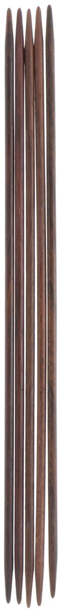 Спицы чулочные Pony, из розового дерева, прямые, диаметр 2,5 мм, длина 15 см, 5 шт36903-02Спицы для вязания Pony, изготовленные из розового дерева, не имеют ограничителей и предназначены для вязания бейки горловины, чулок, шапочек, варежек и носков. Они прочные, легкие, гладкие и удобные в использовании. Кончики спиц закругленные. Вы сможете вязать для себя и делать подарки друзьям. Рукоделие всегда считалось изысканным, благородным делом. Работа, сделанная своими руками, долго будет радовать вас и ваших близких.