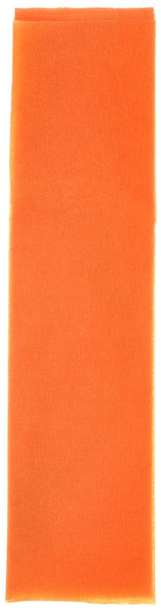 Апплика Цветная бумага крепированная Оранжевый неон 1 лист С0307-03