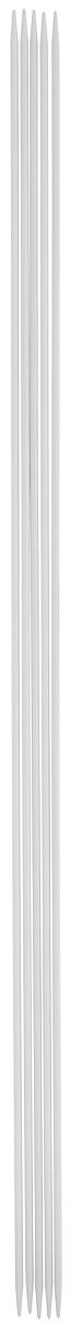 Спицы чулочные Pony, металлические, прямые, диаметр 2 мм, длина 30 см, 5 шт40212Спицы для вязания Pony, изготовленные из алюминия, не имеют ограничителей и предназначены для вязания чулок, шапочек, варежек и носков. Они прочные, легкие, гладкие и удобные в использовании. Кончики спиц закругленные. Вы сможете вязать для себя и делать подарки друзьям. Рукоделие всегда считалось изысканным, благородным делом. Работа, сделанная своими руками, долго будет радовать вас и ваших близких.