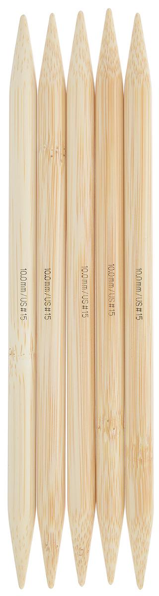 Спицы чулочные Addi, бамбуковые, прямые, диаметр 10 мм, длина 20 см, 5 шт501-7/10-020Спицы для вязания Addi, изготовленные из бамбука, не имеют ограничителей и предназначены для вязания бейки горловины, чулок, шапочек, варежек и носков. Поверхность изделия обрабатывается специальным, высокотехнологичным японским воском, который закрывает поры бамбука и делает поверхность абсолютно гладкой. Спицы прочные, легкие, гладкие и удобные в использовании. Спицы Addi идеальны для людей с аллергией на металл и их едва слышно при вязании. Вы сможете вязать для себя и делать подарки друзьям. Рукоделие всегда считалось изысканным, благородным делом. Работа, сделанная своими руками, долго будет радовать вас и ваших близких.