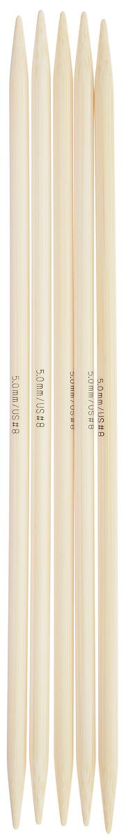 Спицы чулочные Addi, бамбуковые, прямые, диаметр 5 мм, длина 20 см, 5 шт501-7/5-020Спицы для вязания Addi, изготовленные из бамбука, не имеют ограничителей и предназначены для вязания бейки горловины, чулок, шапочек, варежек и носков. Поверхность изделия обрабатывается специальным, высокотехнологичным японским воском, который закрывает поры бамбука и делает поверхность абсолютно гладкой. Спицы прочные, легкие, гладкие и удобные в использовании. Спицы Addi идеальны для людей с аллергией на металл и их едва слышно при вязании. Вы сможете вязать для себя и делать подарки друзьям. Рукоделие всегда считалось изысканным, благородным делом. Работа, сделанная своими руками, долго будет радовать вас и ваших близких.