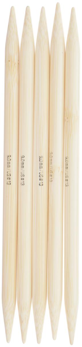 Спицы чулочные Addi, бамбуковые, прямые, диаметр 9 мм, длина 20 см, 5 шт501-7/9-020Спицы для вязания Addi, изготовленные из бамбука, не имеют ограничителей и предназначены для вязания бейки горловины, чулок, шапочек, варежек и носков. Поверхность изделия обрабатывается специальным, высокотехнологичным японским воском, который закрывает поры бамбука и делает поверхность абсолютно гладкой. Спицы прочные, легкие, гладкие и удобные в использовании. Спицы Addi идеальны для людей с аллергией на металл и их едва слышно при вязании. Вы сможете вязать для себя и делать подарки друзьям. Рукоделие всегда считалось изысканным, благородным делом. Работа, сделанная своими руками, долго будет радовать вас и ваших близких.