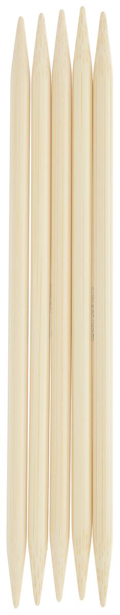 Спицы чулочные Addi, бамбуковые, прямые, диаметр 7 мм, длина 20 см, 5 шт501-7/7-020Спицы для вязания Addi, изготовленные из бамбука, не имеют ограничителей и предназначены для вязания бейки горловины, чулок, шапочек, варежек и носков. Поверхность изделия обрабатывается специальным, высокотехнологичным японским воском, который закрывает поры бамбука и делает поверхность абсолютно гладкой. Спицы прочные, легкие, гладкие и удобные в использовании. Спицы Addi идеальны для людей с аллергией на металл и их едва слышно при вязании. Вы сможете вязать для себя и делать подарки друзьям. Рукоделие всегда считалось изысканным, благородным делом. Работа, сделанная своими руками, долго будет радовать вас и ваших близких.
