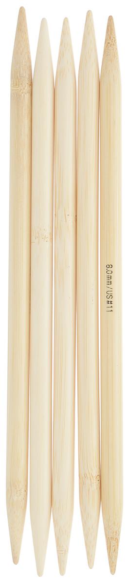 Спицы чулочные Addi, бамбуковые, прямые, диаметр 8 мм, длина 20 см, 5 шт501-7/8-020Спицы для вязания Addi, изготовленные из бамбука, не имеют ограничителей и предназначены для вязания бейки горловины, чулок, шапочек, варежек и носков. Поверхность изделия обрабатывается специальным, высокотехнологичным японским воском, который закрывает поры бамбука и делает поверхность абсолютно гладкой. Спицы прочные, легкие, гладкие и удобные в использовании. Спицы Addi идеальны для людей с аллергией на металл и их едва слышно при вязании. Вы сможете вязать для себя и делать подарки друзьям. Рукоделие всегда считалось изысканным, благородным делом. Работа, сделанная своими руками, долго будет радовать вас и ваших близких.