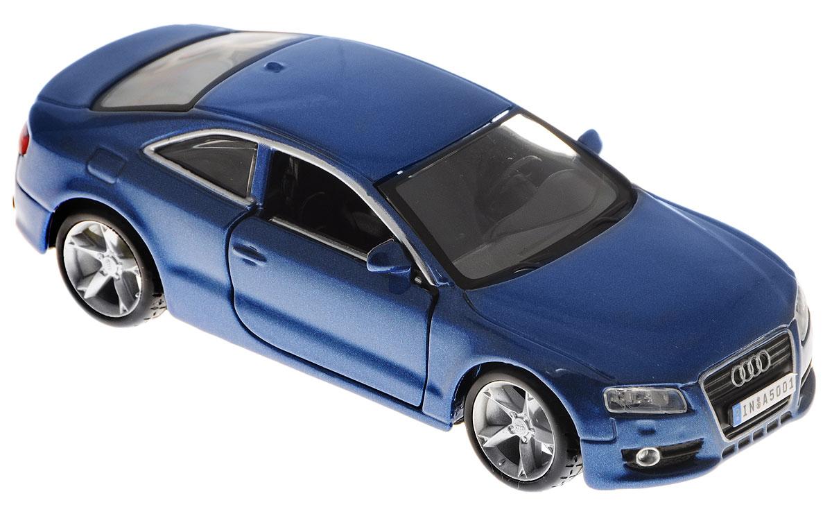 Bburago Модель автомобиля Audi A5 цвет синий