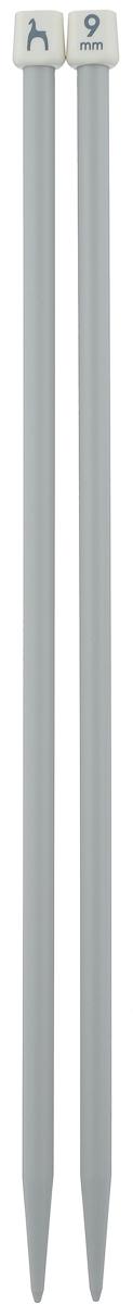 Спицы Pony, прямые, диаметр 9 мм, длина 35 см, 2 шт33268Легкие и прочные спицы Pony, изготовленные из пластика, предназначены для вязания широких деталей изделия, например, спинки, переда, рукавов. Ограничители препятствуют соскальзыванию петель. Спицы из пластика подходят людям с аллергией на металлы. Вы сможете вязать для себя и делать подарки друзьям. Рукоделие всегда считалось изысканным, благородным делом. Работа, сделанная своими руками, долго будет радовать вас и ваших близких.