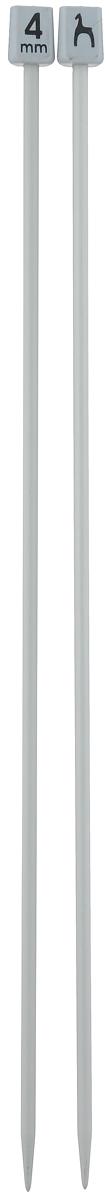Спицы Pony, прямые, диаметр 4 мм, длина 30 см, 2 шт32209Легкие и прочные спицы Pony, изготовленные из алюминия, предназначены для вязания широких деталей изделия, например, спинки, переда, рукавов. Ограничители, выполненные из пластика, препятствуют соскальзыванию петель. Вы сможете вязать для себя и делать подарки друзьям. Рукоделие всегда считалось изысканным, благородным делом. Работа, сделанная своими руками, долго будет радовать вас и ваших близких.
