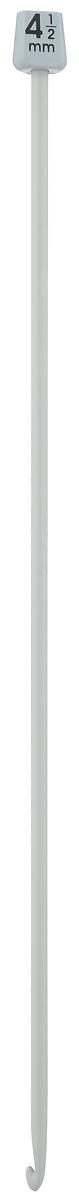 Крючок для вязания Pony, тунисский, диаметр 4,50 мм, длина 30 см43210Крючок Pony, выполненный из высококачественного алюминия, предназначен для вязания в тунисской (афганской) технике. Крючок длиннее обычного, на конце у него имеется пластиковый шарик, который удерживает петли и не даёт им спуститься. Благодаря этой технике получаются очень красивые по текстуре вещи, плотные и в то же время мягкие. Расход пряжи при таком вязании уменьшается примерно на 20 %. Вы сможете вязать для себя и делать подарки друзьям. Рукоделие всегда считалось изысканным, благородным делом. Работа, сделанная своими руками, долго будет радовать вас и ваших близких.