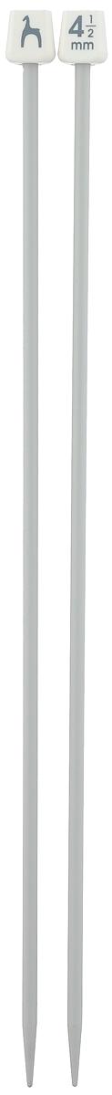 Спицы Pony, прямые, диаметр 4,5 мм, длина 30 см, 2 шт32210Легкие и прочные спицы Pony, изготовленные из алюминия, предназначены для вязания широких деталей изделия, например, спинки, переда, рукавов. Ограничители, выполненные из пластика, препятствуют соскальзыванию петель. Вы сможете вязать для себя и делать подарки друзьям. Рукоделие всегда считалось изысканным, благородным делом. Работа, сделанная своими руками, долго будет радовать вас и ваших близких.