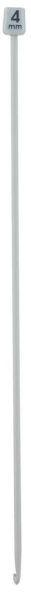 Крючок для вязания Pony, тунисский, диаметр 4,0 мм, длина 30 см43209Крючок Pony, выполненный из высококачественного алюминия, предназначен для вязания в тунисской (афганской) технике. Крючок длиннее обычного, на конце у него имеется пластиковый шарик, который удерживает петли и не даёт им спуститься. Благодаря этой технике получаются очень красивые по текстуре вещи, плотные и в то же время мягкие. Расход пряжи при таком вязании уменьшается примерно на 20 %. Вы сможете вязать для себя и делать подарки друзьям. Рукоделие всегда считалось изысканным, благородным делом. Работа, сделанная своими руками, долго будет радовать вас и ваших близких.