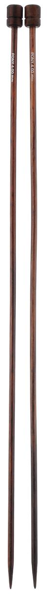 Спицы Pony, из розового дерева, прямые, диаметр 4,0 мм, длина 35 см, 2 шт33809Спицы для вязания Pony изготовлены из розового дерева. Поверхность спиц имеет гладкое покрытие, благодаря этому петли легко скользят по спицам. Спицы предназначены для вязания широких деталей изделия (спинки, переда, рукавов). Спицы из розового дерева Pony подходят для людей с аллергией на металл. Изделия легкие и прочные. Вы сможете вязать для себя и делать подарки друзьям. Рукоделие всегда считалось изысканным, благородным делом. Работа, сделанная своими руками, долго будет радовать вас и ваших близких.