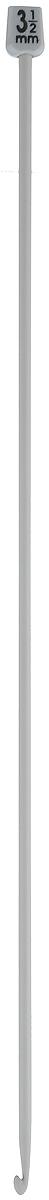 Крючок для вязания Pony, тунисский, диаметр 3,5 мм, длина 30 см43207Крючок Pony, выполненный из высококачественного алюминия, предназначен для вязания в тунисской (афганской) технике. Крючок длиннее обычного, на конце у него имеется пластиковый шарик, который удерживает петли и не даёт им спуститься. Благодаря этой технике получаются очень красивые по текстуре вещи, плотные и в то же время мягкие. Расход пряжи при таком вязании уменьшается примерно на 20 %. Вы сможете вязать для себя и делать подарки друзьям. Рукоделие всегда считалось изысканным, благородным делом. Работа, сделанная своими руками, долго будет радовать вас и ваших близких.