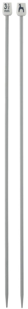 Спицы Pony, прямые, диаметр 3,5 мм, длина 30 см, 2 шт32207Легкие и прочные спицы Pony, изготовленные из алюминия, предназначены для вязания широких деталей изделия, например, спинки, переда, рукавов. Ограничители, выполненные из пластика, препятствуют соскальзыванию петель. Вы сможете вязать для себя и делать подарки друзьям. Рукоделие всегда считалось изысканным, благородным делом. Работа, сделанная своими руками, долго будет радовать вас и ваших близких.