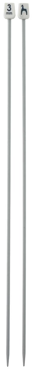 Спицы Pony, прямые, диаметр 3 мм, длина 30 см, 2 шт32205Легкие и прочные спицы Pony, изготовленные из алюминия, предназначены для вязания широких деталей изделия, например, спинки, переда, рукавов. Ограничители, выполненные из пластика, препятствуют соскальзыванию петель. Вы сможете вязать для себя и делать подарки друзьям. Рукоделие всегда считалось изысканным, благородным делом. Работа, сделанная своими руками, долго будет радовать вас и ваших близких.