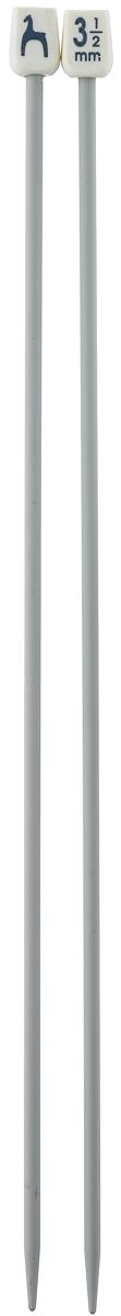 Спицы Pony, прямые, диаметр 3,5 мм, длина 25 см, 2 шт31207Легкие и прочные спицы Pony, изготовленные из алюминия, предназначены для вязания широких деталей изделия, например, спинки, переда, рукавов. Ограничители, выполненные из пластика, препятствуют соскальзыванию петель. Вы сможете вязать для себя и делать подарки друзьям. Рукоделие всегда считалось изысканным, благородным делом. Работа, сделанная своими руками, долго будет радовать вас и ваших близких.