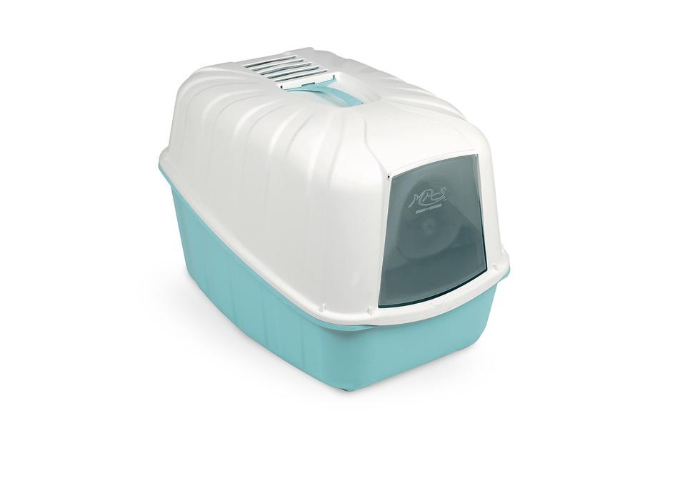 Био-туалет MPS Komoda, с совком, 54х39х40 см, цвет: аквамаринS07080113Пластиковый био-туалет поможет защитить дом от неприятных запахов и придется по нраву даже самым привередливым питомцам. В отличие от обычных лотков био-туалет Komoda имеет специальный фильтр, который быстро нейтрализует неприятные запахи, дверцу, через которую питомец легко попадает внутрь, а также совок для уборки. Совок закреплен на крыше туалета и служит ручкой, облегающей процесс транспортировки. С био-туалетом Komoda ваш питомец всегда будет чувствовать себя комфортно, а вам больше не придется по несколько раз в день убирать лоток. Фильтра хватает надолго!