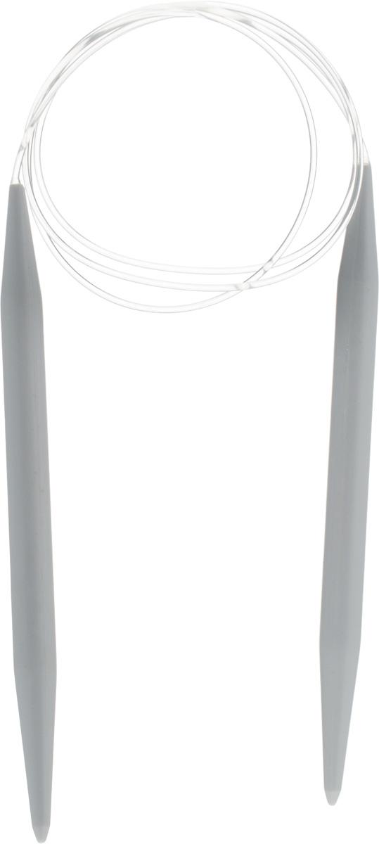 Спицы Pony, пластиковые, круговые, диаметр 10 мм, длина 100 см, 2 шт52269Спицы для вязания Pony, изготовленные из пластика, имеют закругленные кончики и скреплены гибким пластиковым неснимаемым шнуром. Они прочные, легкие, гладкие, удобные в использовании. Круговые спицы наиболее удобны для выполнения деталей и изделий, не имеющих швов. Короткими круговыми спицами вяжут бейки горловины, воротники-гольф, длинными спицами можно вязать по кругу целые модели. Вы сможете вязать для себя, делать подарки друзьям. Рукоделие всегда считалось изысканным, благородным делом. Работа, сделанная своими руками, долго будет радовать вас и ваших близких.