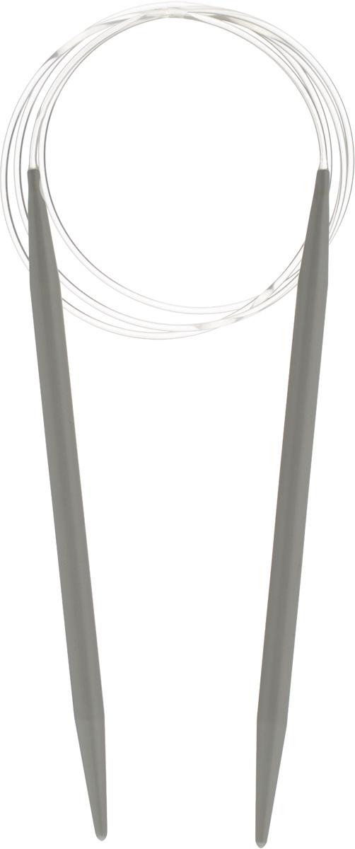 Спицы Pony, пластиковые, круговые, диаметр 8 мм, длина 100 см, 2 шт52267Спицы для вязания Pony, изготовленные из пластика, имеют закругленные кончики и скреплены гибким пластиковым неснимаемым шнуром. Они прочные, легкие, гладкие, удобные в использовании. Круговые спицы наиболее удобны для выполнения деталей и изделий, не имеющих швов. Короткими круговыми спицами вяжут бейки горловины, воротники-гольф, длинными спицами можно вязать по кругу целые модели. Вы сможете вязать для себя, делать подарки друзьям. Рукоделие всегда считалось изысканным, благородным делом. Работа, сделанная своими руками, долго будет радовать вас и ваших близких.