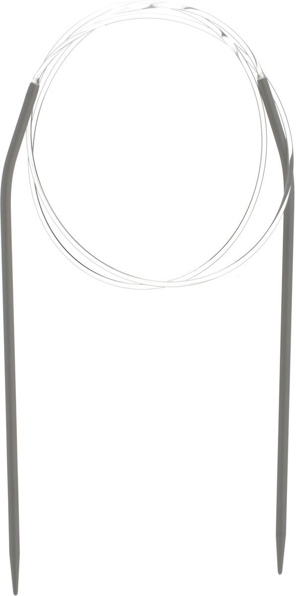 Спицы Pony, металлические, круговые, диаметр 4,5 мм, длина 100 см, 2 шт52210Спицы для вязания Pony, изготовленные из алюминия, имеют закругленные кончики и скреплены гибким пластиковым неснимаемым шнуром. Они прочные, легкие, гладкие, удобные в использовании. Круговые спицы наиболее удобны для выполнения деталей и изделий, не имеющих швов. Короткими круговыми спицами вяжут бейки горловины, воротники-гольф, длинными спицами можно вязать по кругу целые модели. Вы сможете вязать для себя, делать подарки друзьям. Рукоделие всегда считалось изысканным, благородным делом. Работа, сделанная своими руками, долго будет радовать вас и ваших близких.