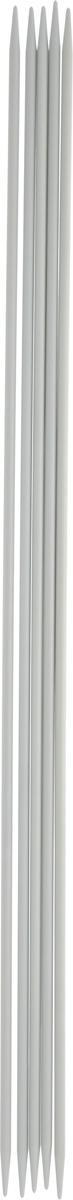 Спицы чулочные Pony, металлические, прямые, диаметр 3 мм, длина 30 см, 5 шт40216Спицы для вязания Pony, изготовленные из алюминия, не имеют ограничителей и предназначены для вязания чулок, шапочек, варежек и носков. Они прочные, легкие, гладкие и удобные в использовании. Кончики спиц закругленные. Вы сможете вязать для себя и делать подарки друзьям. Рукоделие всегда считалось изысканным, благородным делом. Работа, сделанная своими руками, долго будет радовать вас и ваших близких.