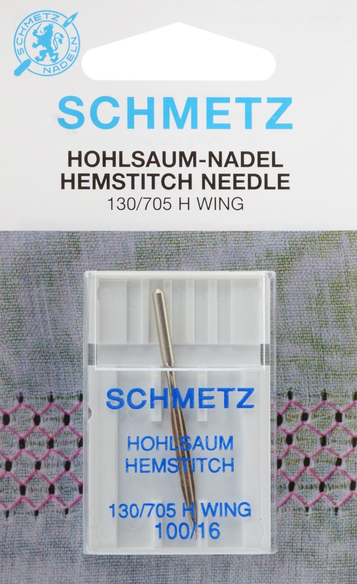 Игла для машинной вышивки Schmetz, для техники мережка, №10022:20.2.SESСпециальная игла Schmetz, выполненная из никеля, подходит для бытовых вышивальных машин всех марок. Игла предназначена для выполнения вышивки в технике мережка на велюре. Имеет цветовой код. В комплекте пластиковый футляр для переноски и хранения. Система иглы: 130/705 H WING. Номер иглы: 100/16.
