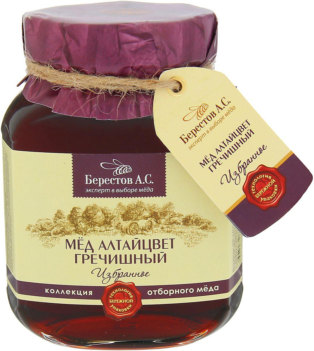 Для коллекции «Избранное» нашими экспертами отобраны исключительно премиальные сорта мёда, обладающие уникальным характером и многогранным вкусом. Каждый урожай мёда неповторим и мы предлагаем вам только самое лучшее из коллекции этого года. Мёд Алтайский Гречишный из коллекции «Избранное» Роскошный терпкий мёд с легким коньячным послевкусием самый изысканный и яркий в коллекции «Избранное». Горный воздух Алтая и редчайшие целебные медоносы дарят гречишному мёду поистине чарующий букет корицы, грецкого ореха и чернослива с нотками карамели, муската и едва уловимым оттенком тмина. Высокое качество Проверенная годами и положительно зарекомендовавшая себя многоступенчатая система отбора мёда для коллекции «Избранное» гарантирует высочайшее качество натурального меда «Берестов А.С.» и соответствие всем требованиям ГОСТ. Мёд «Берестов А.С.» получил заслуженное признание ценителей и экспертов. Это подтверждено многочисленными наградами крупнейших продуктовых выставок. ...