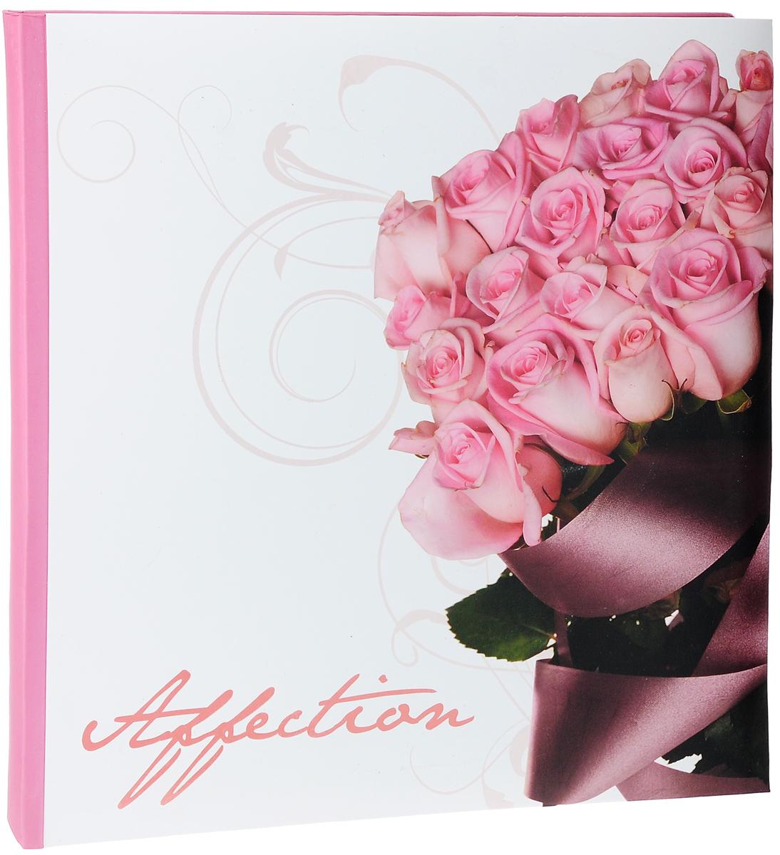 Фотоальбом Pioneer Romantic flower, 40 магнитных страниц, 31,5 х 31,7 см27506_розыФотоальбом Pioneer Romantic flower сохранит моменты ваших счастливых мгновений на своих страницах. Обложка выполнена из плотного картона и оформлена красочным рисунком и надписью. Переплет книжный. Альбом имеет магнитные листы, изготовленные из картона с покрытием ПВХ-пленкой. Такие листы обладают следующими преимуществами: - Не нужно прикладывать усилий для закрепления фотографий, - Не нужно заботиться о размерах фотографий, так как вы можете вставить в альбом фотографии разных размеров, - Защита фотографий от постоянных прикосновений зрителей с помощью пленки ПВХ. Нам всегда так приятно вспоминать о самых счастливых моментах жизни, запечатленных на фотографиях. Поэтому фотоальбом является универсальным подарком к любому празднику. вашим родным, близким и просто знакомым будет приятно помещать фотографии в этот альбом. Количество листов: 40 шт. Размер листа: 31,5 х 31,7 см.