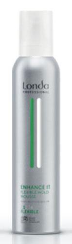 LC СТАЙЛИНГ Пена NEW д/уклад норм/фик 250мл ENHANCE0990-81545304Профессиональная пена Londa Enhance с микрополимерами 3D-Sculpt придает объем и пышность волосам на срок до 24. Обладает теплозащитными свойствами.