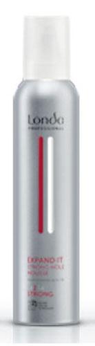 LC СТАЙЛИНГ Пена NEW д/укладки волос сильн. фик.250мл EXPAND IT0990-81545297Профессиональная пена Londa Expand для укладки волос с микрополимерами 3D-Sculpt предназначен для придания волосам объема на срок до 24 часов. Обладает теплозащитными свойствами.