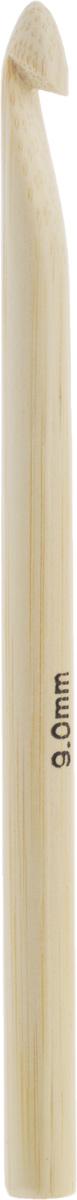 Крючок для вязания Addi, бамбуковый, диаметр 9 мм, длина 15 см545-7/9-15Крючок Addi выполнен из высококачественного бамбука. Поверхность крючка обработана специальным, высокотехнологичным японским воском, который закрывает поры бамбука и делает поверхность абсолютно гладкой. Крючок предназначен для вязания и плетения из ниток, ручного изготовления полотна. Идеально гладкая головка и стержень крючка обеспечивают равномерное скольжение петель. Вязание крючком применяют как для изготовления одежды целиком, так и отделочных элементов одежды или украшений. Вы сможете вязать для себя и делать подарки друзьям. Работа, сделанная своими руками, долго будет радовать вас и ваших близких.
