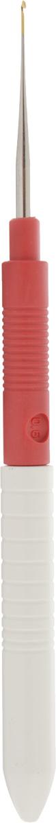 Крючок для вязания Addi, экстратонкий, диаметр 0,6 мм, длина 13 см113-7/0.6-13Крючок Addi, выполненный из пластика и металла, предназначен для вязания и плетения из ниток, ручного изготовления полотна. Идеально гладкая головка и стержень крючка обеспечивают равномерное скольжение петель. Вязание крючком применяют как для изготовления одежды целиком, так и отделочных элементов одежды. Работа, сделанная своими руками, долго будет радовать вас и ваших близких. Подарок, выполненный собственноручно, станет самым ценным для друзей и знакомых.
