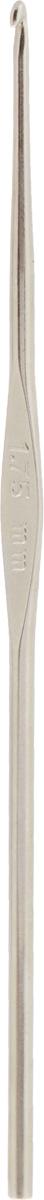 Крючок для вязания Pony, металлический, диаметр 1,75 мм, длина 12 см58227Двусторонний крючок Pony выполнен из высококачественной стали. Крючок предназначен для вязания и плетения из ниток, ручного изготовления полотна. Идеально гладкая головка и стержень крючка обеспечивают равномерное скольжение петель. Вязание крючком применяют как для изготовления одежды целиком, так и отделочных элементов одежды или украшений. Вы сможете вязать для себя и делать подарки друзьям. Рукоделие всегда считалось изысканным, благородным делом. Работа, сделанная своими руками, долго будет радовать вас и ваших близких. Подарок, выполненный собственноручно, станет самым ценным для друзей и знакомых.