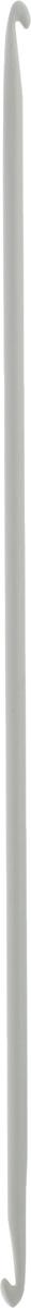 Крючок для вязания Pony, металлический, тунисский, двусторонний, диаметр 5 мм, длина 30 см43311Двусторонний крючок Pony выполнен из высококачественного алюминия. Крючок предназначен для вязания бесшовного тунисского полотна по кругу. Идеально гладкая головка и стержень крючка обеспечивают равномерное скольжение петель. Вязание крючком применяют как для изготовления одежды целиком, так и отделочных элементов одежды или украшений. Вы сможете вязать для себя и делать подарки друзьям. Рукоделие всегда считалось изысканным, благородным делом. Работа, сделанная своими руками, долго будет радовать вас и ваших близких. Подарок, выполненный собственноручно, станет самым ценным для друзей и знакомых.