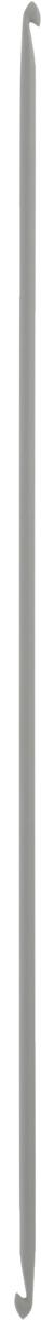 Крючок для вязания Pony, металлический, тунисский, двусторонний, диаметр 4 мм, длина 30 см43309Двусторонний крючок Pony выполнен из высококачественного алюминия. Крючок предназначен для вязания бесшовного тунисского полотна по кругу. Идеально гладкая головка и стержень крючка обеспечивают равномерное скольжение петель. Вязание крючком применяют как для изготовления одежды целиком, так и отделочных элементов одежды или украшений. Вы сможете вязать для себя и делать подарки друзьям. Рукоделие всегда считалось изысканным, благородным делом. Работа, сделанная своими руками, долго будет радовать вас и ваших близких. Подарок, выполненный собственноручно, станет самым ценным для друзей и знакомых.