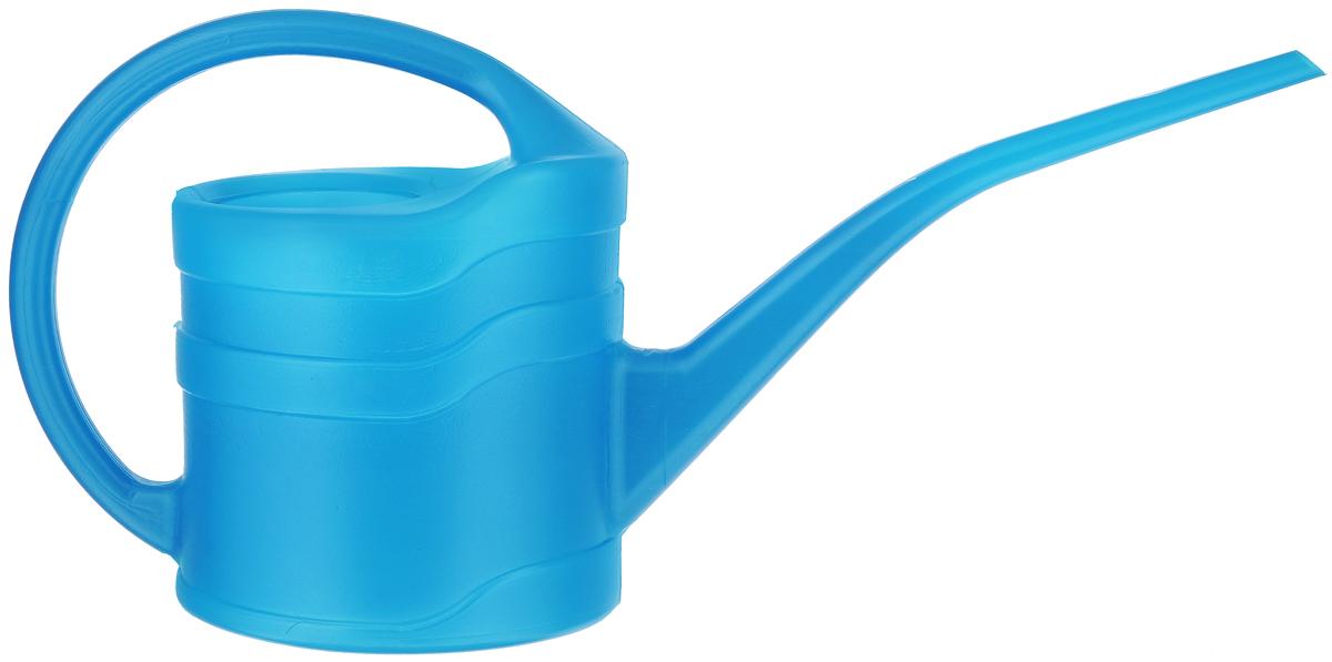 Лейка садовая Калита, цвет: голубой, 1,3 л77371_голубойЛейка Калита изготовлена из яркого цветного полиэтилена, оснащена удобной фиксированной ручкой и длинным носиком. Идеальный вариант для полива цветов дома или в саду. Диаметр горлышка: 6,5 см. Длина носика: 22,5 см. Высота с учетом ручки: 19 см.