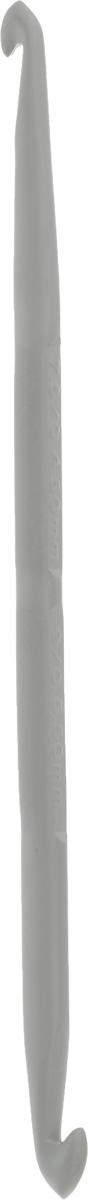 Крючок для вязания Pony, металлический, двусторонний, диаметр 4,5-5,5 мм, длина 13,5 см45908Двусторонний крючок Pony выполнен из высококачественного алюминия. Крючок предназначен для вязания и плетения из ниток, ручного изготовления полотна. Идеально гладкая головка и стержень крючка обеспечивают равномерное скольжение петель. Вязание крючком применяют как для изготовления одежды целиком, так и отделочных элементов одежды или украшений. Вы сможете вязать для себя и делать подарки друзьям. Рукоделие всегда считалось изысканным, благородным делом. Работа, сделанная своими руками, долго будет радовать вас и ваших близких. Подарок, выполненный собственноручно, станет самым ценным для друзей и знакомых.