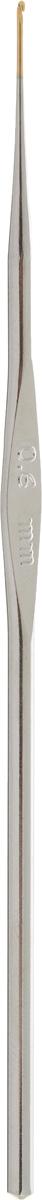Крючок для вязания Addi, экстратонкий, диаметр 0,6 мм, длина 13 см130-7/0.6-13Крючок Addi выполнен из металла. Крючок предназначен для вязания и плетения из ниток, ручного изготовления полотна. Идеально гладкая головка и стержень крючка обеспечивают равномерное скольжение петель. Вязание крючком применяют как для изготовления одежды целиком, так и отделочных элементов одежды. Вы сможете вязать для себя и делать подарки друзьям. Рукоделие всегда считалось изысканным, благородным делом. Работа, сделанная своими руками, долго будет радовать вас и ваших близких. Подарок, выполненный собственноручно, станет самым ценным для друзей и знакомых.