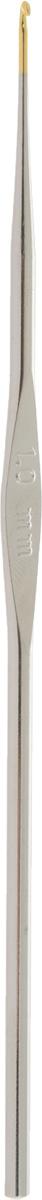 Крючок для вязания Addi, экстратонкий, диаметр 1 мм, длина 13 см130-7/1.0-13Крючок Addi выполнен из металла. Крючок предназначен для вязания и плетения из ниток, ручного изготовления полотна. Идеально гладкая головка и стержень крючка обеспечивают равномерное скольжение петель. Вязание крючком применяют как для изготовления одежды целиком, так и отделочных элементов одежды. Вы сможете вязать для себя и делать подарки друзьям. Рукоделие всегда считалось изысканным, благородным делом. Работа, сделанная своими руками, долго будет радовать вас и ваших близких. Подарок, выполненный собственноручно, станет самым ценным для друзей и знакомых.
