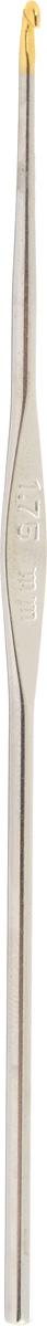 Крючок для вязания Addi, экстратонкий, диаметр 1,75 мм, длина 13 см130-7/1.75-13Крючок Addi выполнен из металла. Крючок предназначен для вязания и плетения из ниток, ручного изготовления полотна. Идеально гладкая головка и стержень крючка обеспечивают равномерное скольжение петель. Вязание крючком применяют как для изготовления одежды целиком, так и отделочных элементов одежды. Вы сможете вязать для себя и делать подарки друзьям. Рукоделие всегда считалось изысканным, благородным делом. Работа, сделанная своими руками, долго будет радовать вас и ваших близких. Подарок, выполненный собственноручно, станет самым ценным для друзей и знакомых.