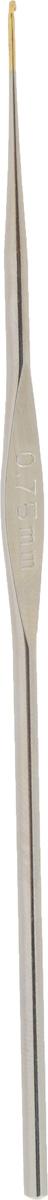 Крючок для вязания Addi, металлический, экстратонкий, диаметр 0,75 мм, длина 13 см130-7/0.75-13Крючок Addi выполнен из металла. Крючок предназначен для вязания и плетения из ниток, ручного изготовления полотна. Идеально гладкая головка и стержень крючка обеспечивают равномерное скольжение петель. Вязание крючком применяют как для изготовления одежды целиком, так и отделочных элементов одежды. Вы сможете вязать для себя и делать подарки друзьям. Рукоделие всегда считалось изысканным, благородным делом. Работа, сделанная своими руками, долго будет радовать вас и ваших близких. Подарок, выполненный собственноручно, станет самым ценным для друзей и знакомых.