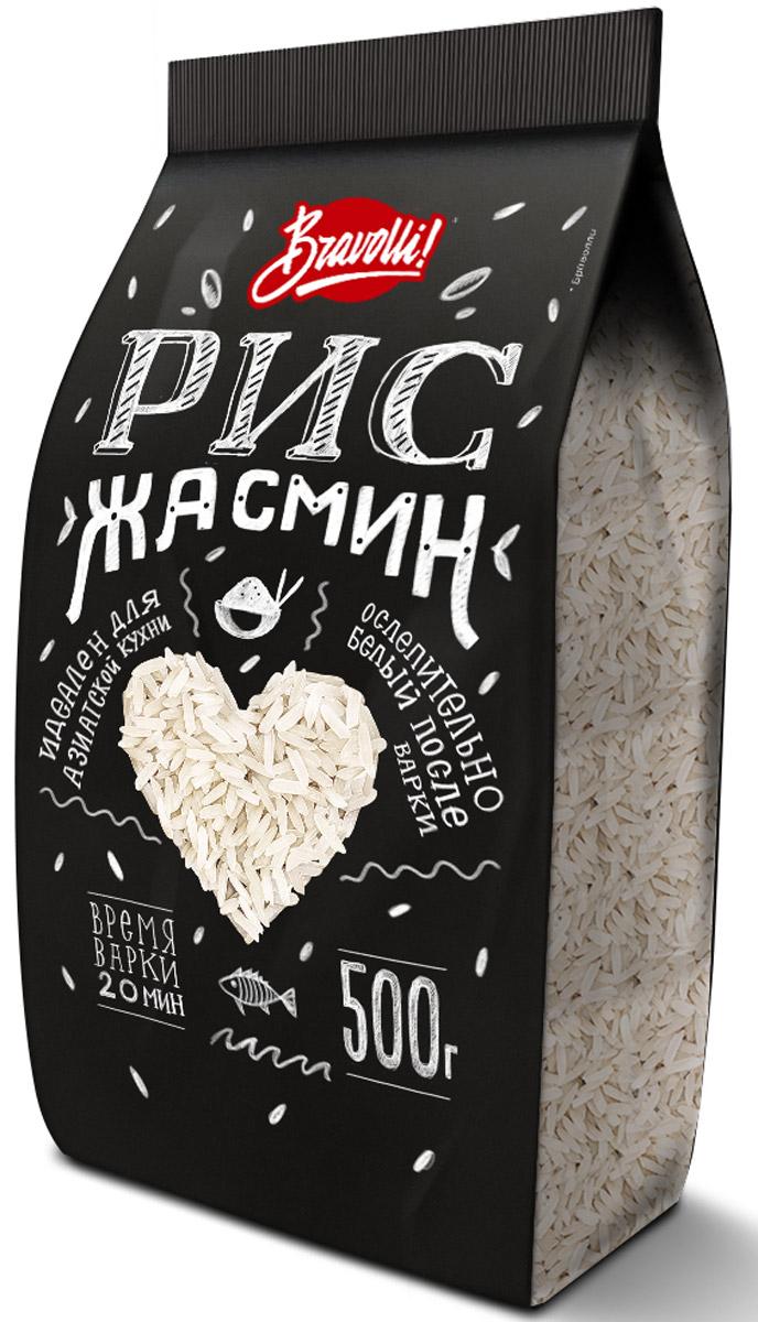 Bravolli Жасмин рис, 500 гБР 61-0,5/6Рис Жасмин - белый длиннозерный рис, который обладает природным (натуральным) ароматом, напоминающим благоухание белого цветка жасмина.
