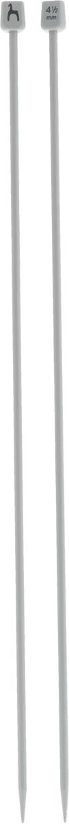 Спицы Pony, алюминиевые, прямые, диаметр 4,5 м, длина 40 см, 2 шт34210Легкие и прочные спицы Pony, изготовленные из алюминия, предназначены для вязания широких деталей изделия, например, спинки, переда, рукавов. Пластиковые ограничители препятствуют соскальзыванию петель. Вы сможете вязать для себя и делать подарки друзьям. Работа, сделанная своими руками, долго будет радовать вас и ваших близких.
