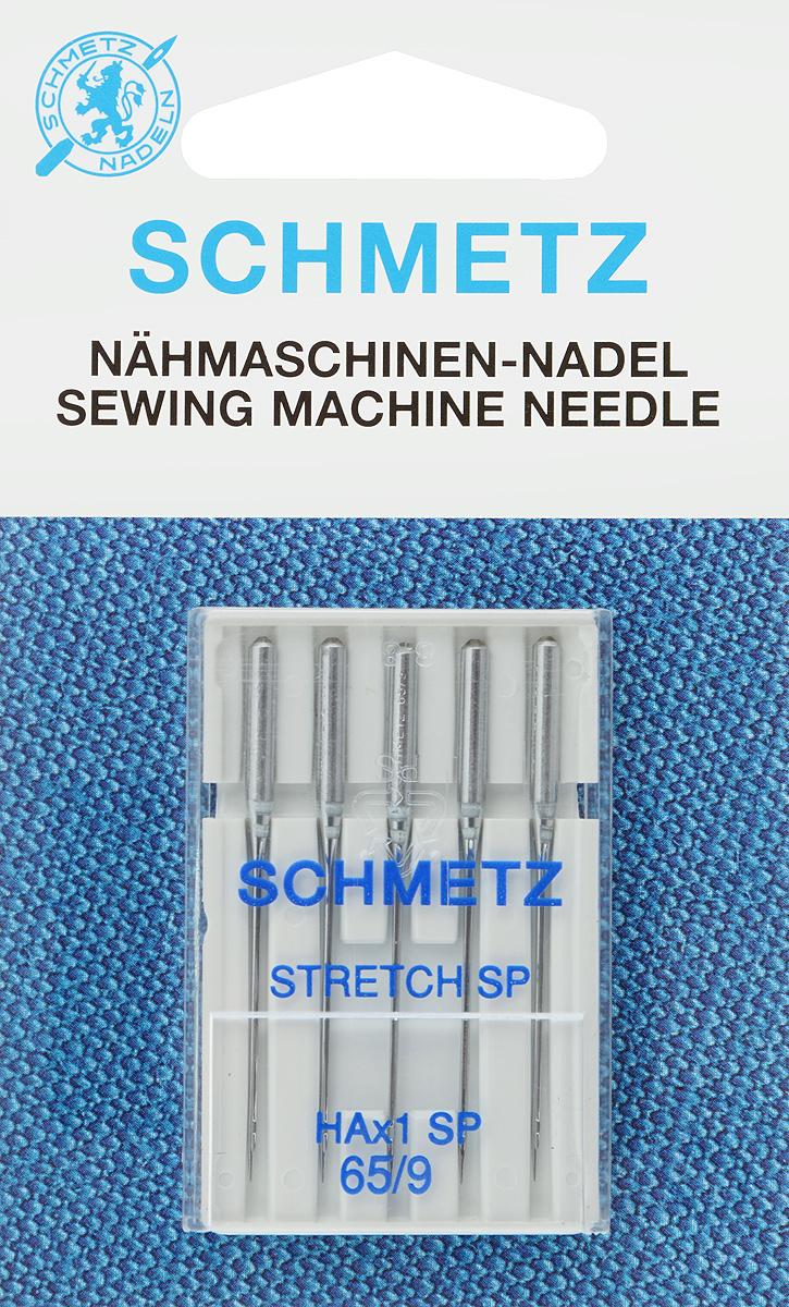 Иглы для бытовых швейных машин Schmetz, для трикотажа, №65, 5 шт22:82.FB1.VJSСпециальные иглы Schmetz, выполненные из хрома, подходят для бытовых швейных машин всех марок. В набор входят иглы, которые идеально подходят для всех трикотажных материалов. Каждая игла имеет цветовой код. В комплекте пластиковый футляр для переноски и хранения. Система игл: HAx1 SP. Номера игл: 65/9.