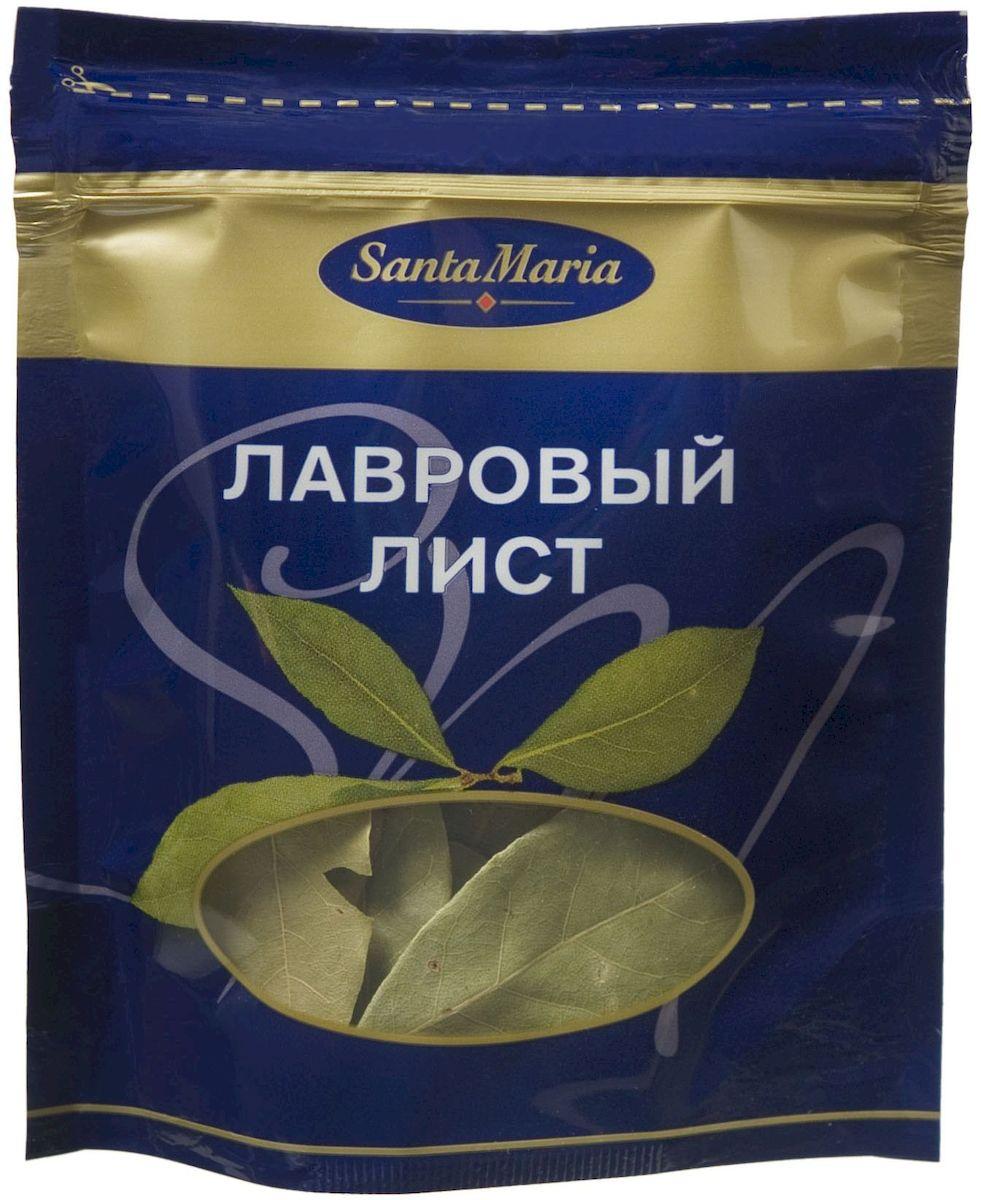 Santa Maria Лавровый лист сухой, 3 г13558Лавровый лист - классическая пряность с сильным терпким вкусом и ароматом. Применяется практически во всех блюдах. Упаковка наполнена воздухом, чтобы листочки оставались целыми.