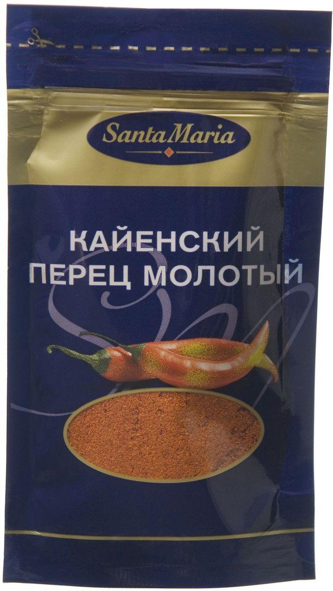 Santa Maria Кайенский перец молотый, 18 г13566Кайенский перец отличается жгучим вкусом и сильным, пряно - горьким ароматом. Добавляется в любые блюда, где нужен насыщенный вкус и аромат.