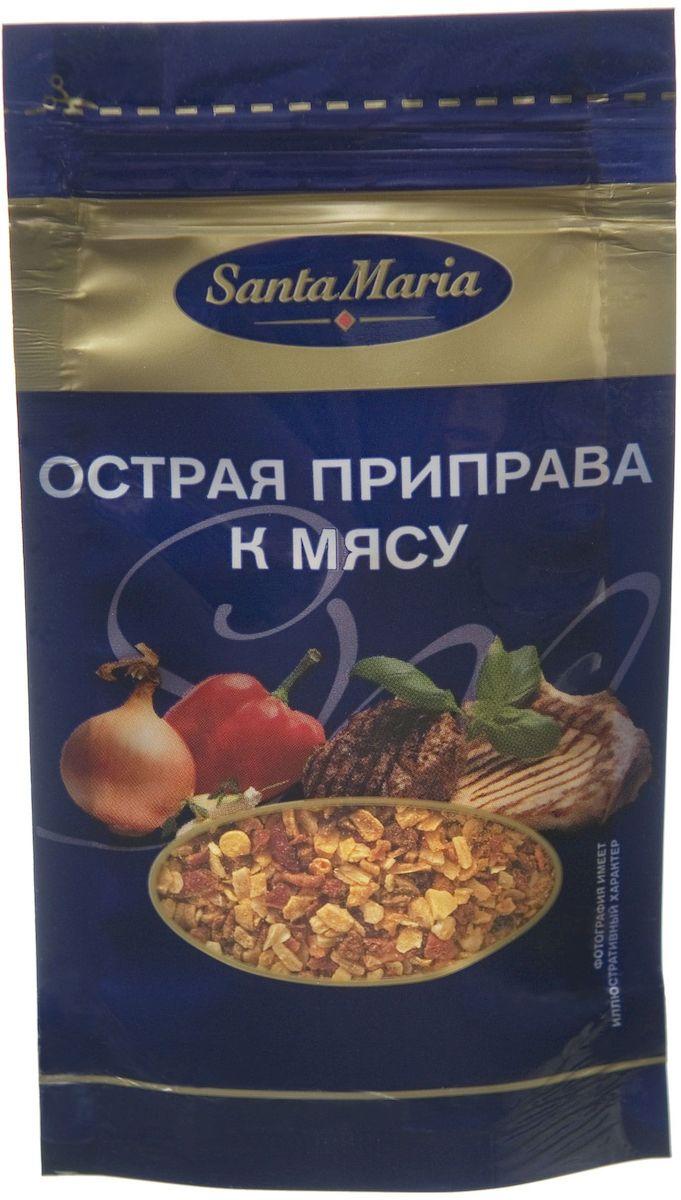 Santa Maria Острая приправа к мясу, 20 г13579Приправа Santa Maria обладает острым вкусом и пряным ароматом. Прекрасно сочетается с жареным и тушеным мясом, овощами.