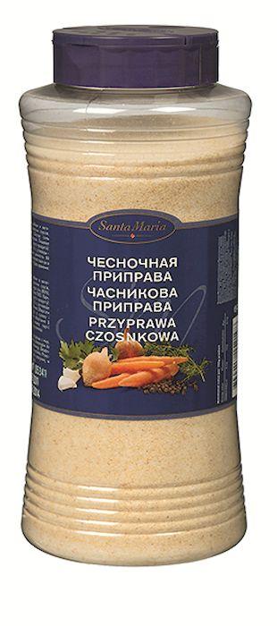 Santa Maria Чесночная приправа, 1,1 кг15219Чесночная приправа Santa Maria имеет мягкий вкус и аромат чеснока. Подходит для приготовления мясных, рыбных и вегетарианских блюд, салатных соусов.