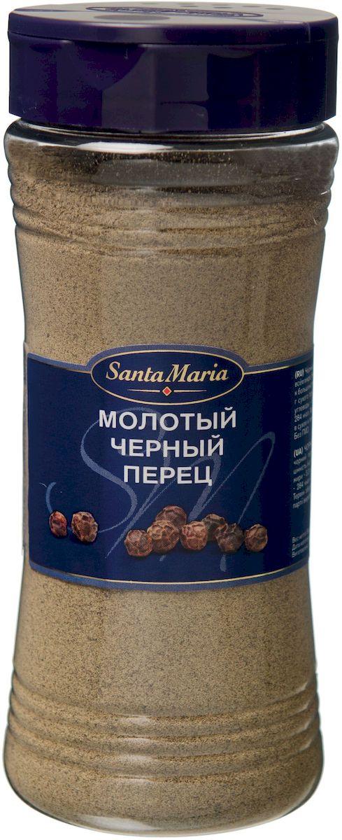Santa Maria Черный перец молотый, 190 г17135Черный перец – излюбленная пряность во всем мире. Его насыщенный вкус и аромат подходит к большинству блюд, особенно к блюдам, приготовленным на гриле, мясным, рыбным и вегетарианским блюдам.