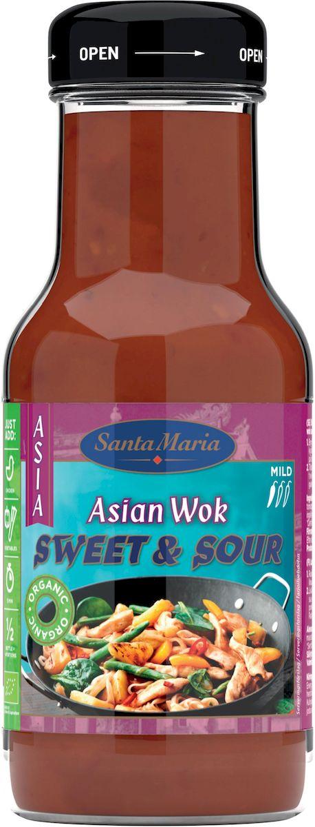 Santa Maria Органик кисло-сладкий соус, 250 мл