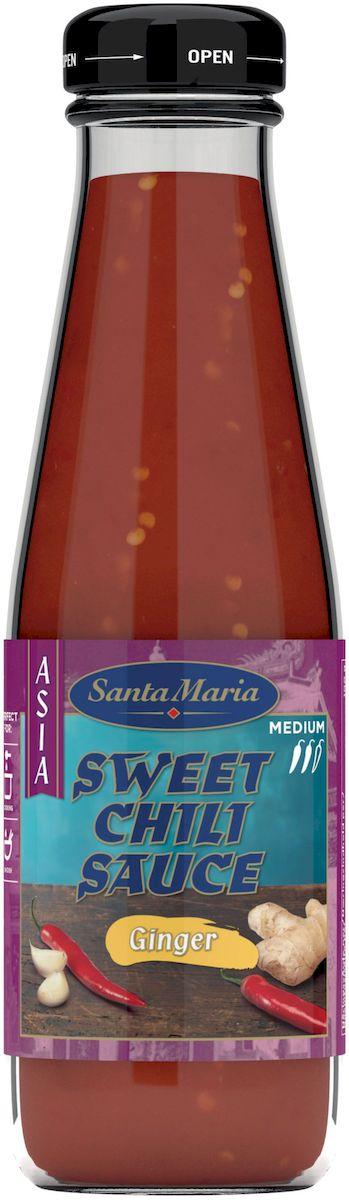 Santa Maria сладкий соус чили с имбирем, 200 мл